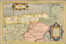 Egypt Map By  Gerard Mercator