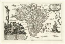 Africa Map By Heinrich Scherer