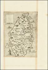 Scandinavia Map By Ferrando Bertelli