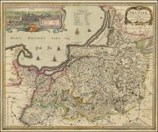 Poland Map By Nicolaes Visscher I