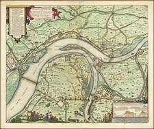Mitteldeutschland Map By Johannes Blaeu
