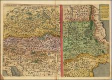 Croatia & Slovenia and Northern Italy Map By Gerard de Jode