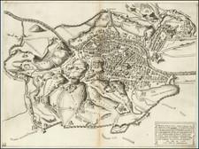 Rome Map By Antonio Lafreri / Nicolas Beatrizet