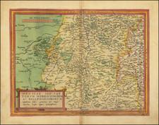 Mitteldeutschland Map By Gerard de Jode
