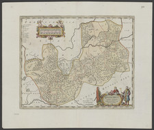 China Map By Johannes Blaeu