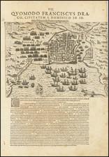 Hispaniola Map By Theodor De Bry