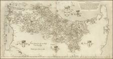 Portugal Map By Fernando Alvaro Seco / Michael Tramezini / Sebastian Di Regibus