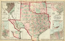 Texas, Plains and Southwest Map By O.W. Gray