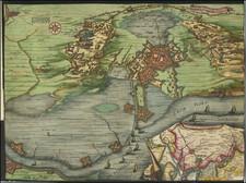 Netherlands Map By Nicolaes Visscher I