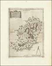 Ireland Map By Bolognini Zaltieri