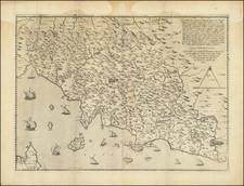 Northern Italy Map By Girolamo Bellarmato / Antonio Salamanca