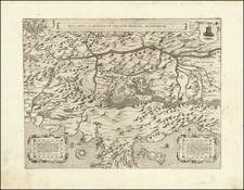 Croatia & Slovenia and Northern Italy Map By Bolognini Zaltieri