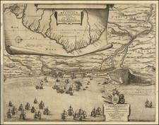 Brazil Map By Nicolaes Visscher I