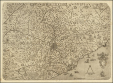 Southern Italy and Rome Map By Anonymous / Vincenzo Luchini