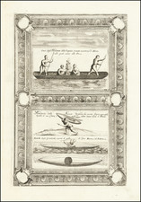 Polar Maps, Virginia, Russia and Curiosities Map By Vincenzo Maria Coronelli