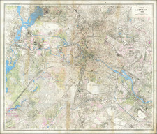 Russia and Germany Map By Leningrad Military Mapping Unit