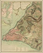 New York City and American Revolution Map By John Montresor