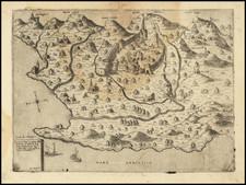 Serbia & Montenegro Map By Domenico Zenoi / Ferrando Bertelli