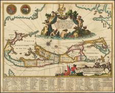 Mappa Aestivarum Insularum Alias Barmudas . . . By John Ogilby