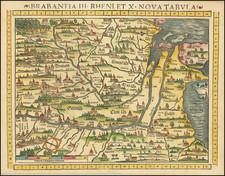 Netherlands, Norddeutschland and Mitteldeutschland Map By Sebastian Munster