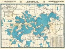 Minnesota Map By