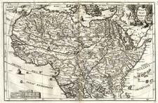 Africa, North Africa and West Africa Map By Heinrich Scherer