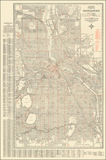 Minnesota Map By Hudson Map Company