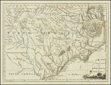 Southeast and North Carolina Map By Universal Magazine
