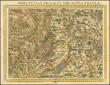 Switzerland Map By Sebastian Munster