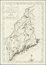 The Province of Maine, From the best Authorities 1795 By John Reid