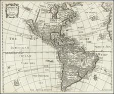 California as an Island and America Map By Anna Seile