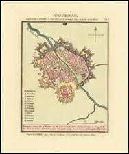 Belgium Map By John Luffman
