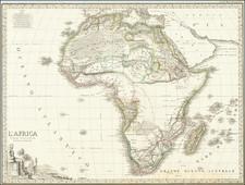 Africa Map By Maggi / Stanislao Stucchi