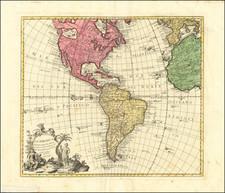 America Map By Tomás López