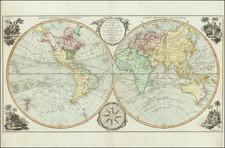World Map By Carington Bowles