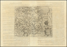 Baltic Countries, Scandinavia and Sweden Map By Johannes Matalius Metellus / Giovanni Botero