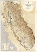 California Map By U.S. War Department