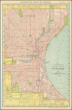 Wisconsin Map By Rand McNally & Company