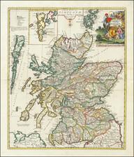 Scotland Map By John Senex