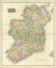 Ireland Map By John Thomson
