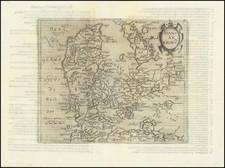 Denmark Map By Johannes Matalius Metellus