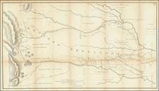 Plains, Kansas, Nebraska, Oklahoma & Indian Territory, Colorado, New Mexico, Colorado and Wyoming Map By Col. Henry P. Dodge / Lt. Enoch Steen