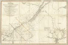 Maine and Eastern Canada Map By William Faden