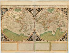 World Map By Rumold Mercator