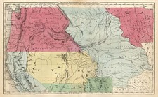 Plains, Rocky Mountains and California Map By Sherman & Smith