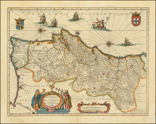 Portugal Map By Jan Jansson