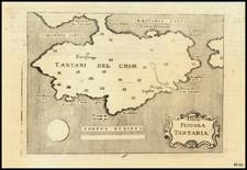 Russia and Ukraine Map By Alphonsus Lasor a Varea