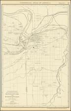 Kansas and Missouri Map By Rand McNally & Company