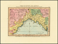 Northern Italy Map By John Luffman