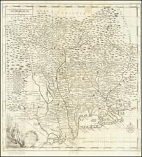 Northern Italy Map By Giambattista Albrizzi